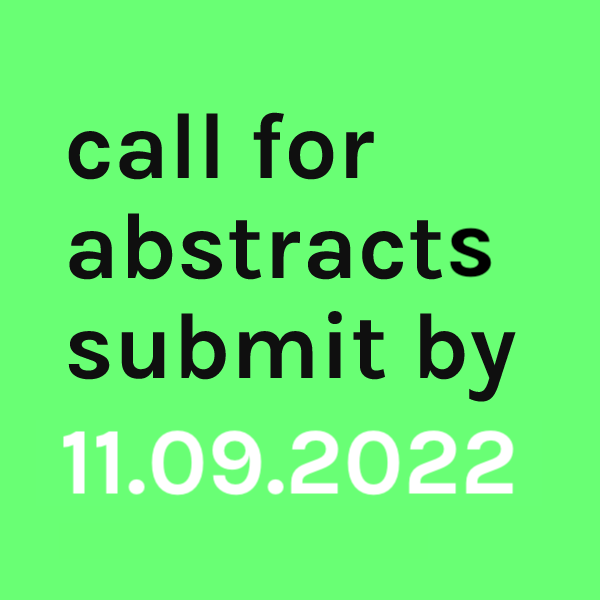 deadline for abstract submission is set to 30 June 2020